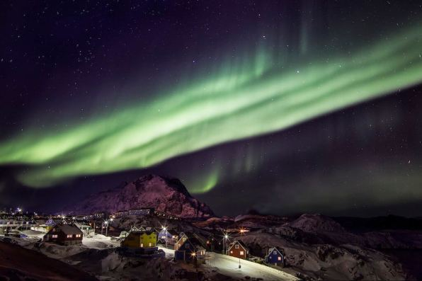 Aurora Borealis (Northern Lights), Greenland - by Mads Pihl - Visit Greenland www.madspihl.com - via Greenland Travel :Flickr