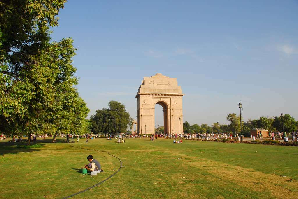 India Gate, New Delhi - by Lord of the Wings©:Flickr