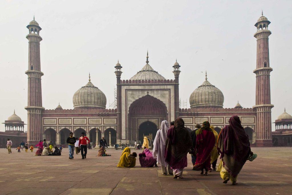 Jami Masjid, New Delhi - by M M - Padmanaba01:Flickr