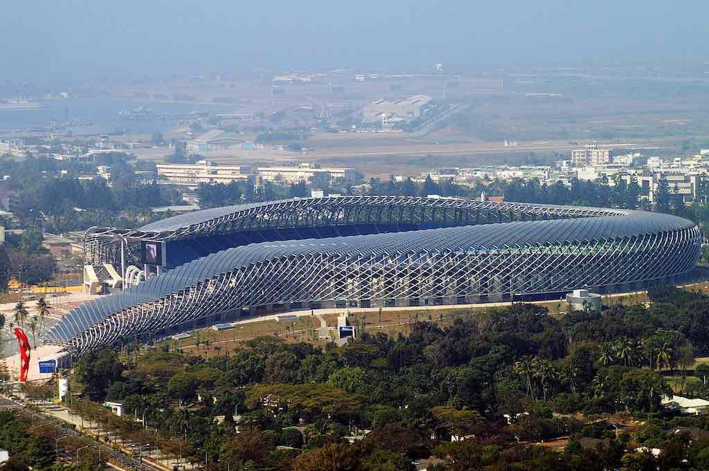 National Stadium, Taiwan - by Peellden/Wikimedia
