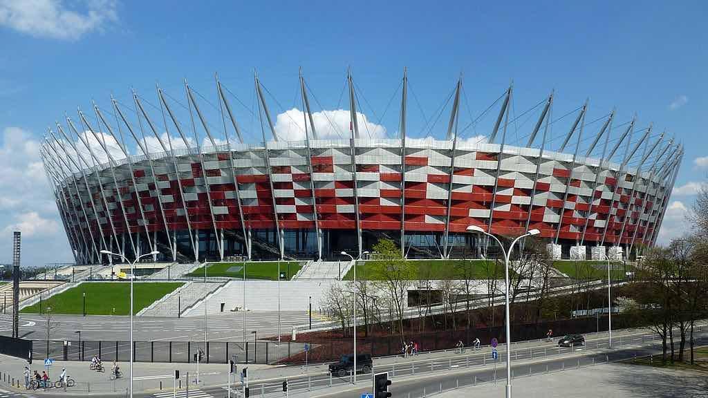 National Stadium, Warsaw - by Przemysław Jahr:Wikimedia