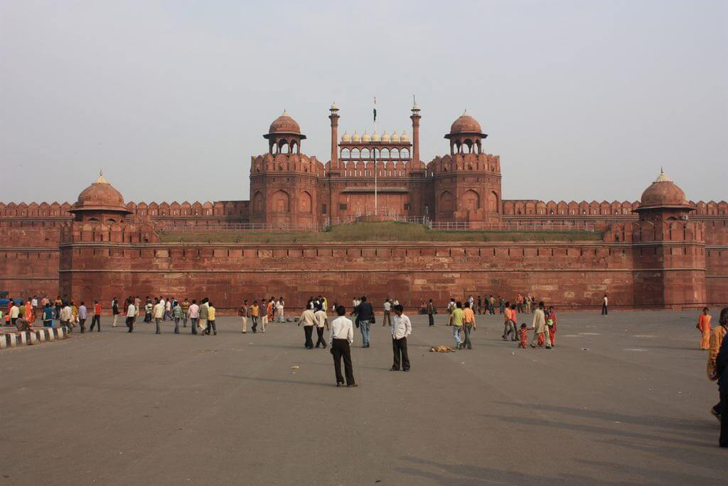 The Red Fort, New Delhi - by Arian Zwegers :Flickr