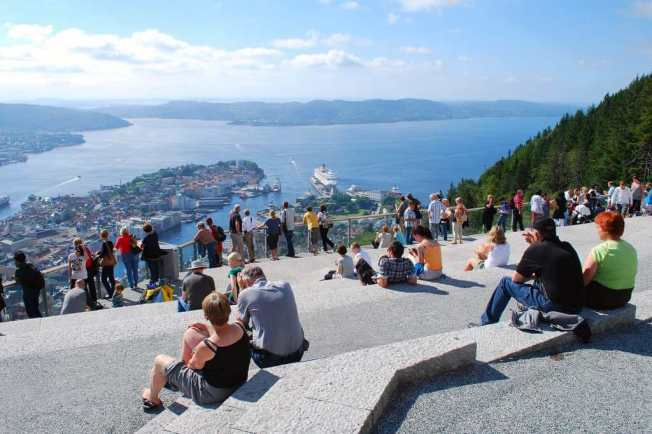 The view from Mount Floyen, Bergen - by Aapo Haapanen - decade_null:Flickr