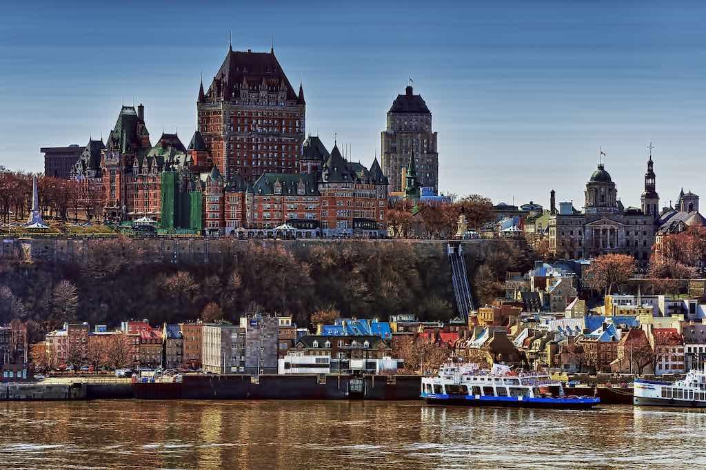 Fairmont Le Chateau Frontenac, Quebec City - by