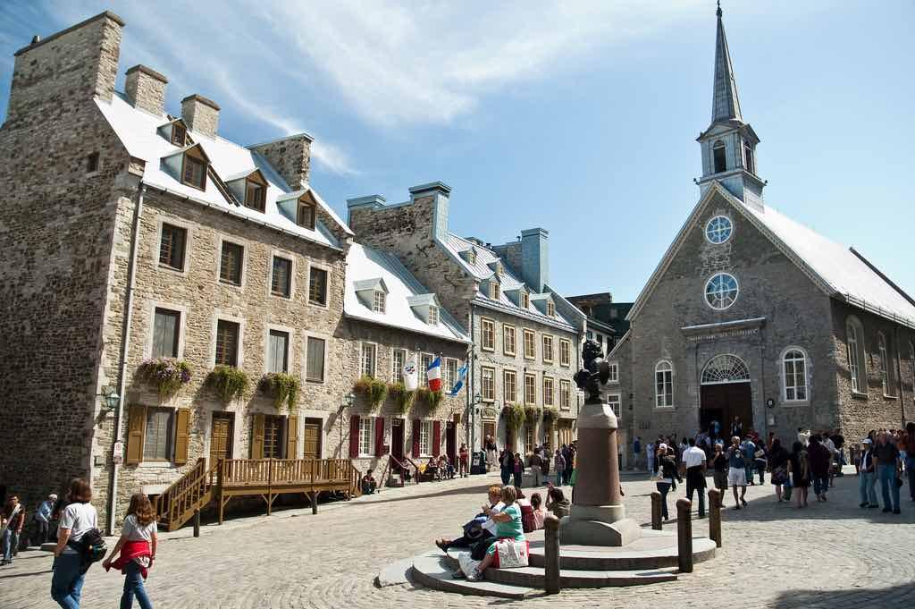 Place Royale, Quebec City - by jgreenberg:Flickr