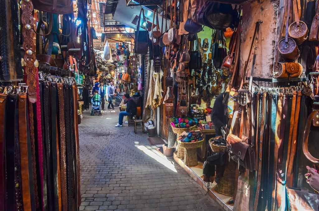 Old Medina Souks, Marrakech - by jbdodane:Flickr