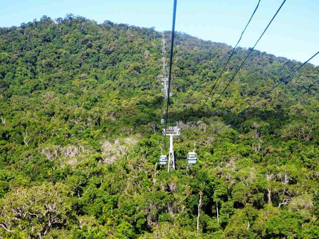 Skyrail Rainforest Cableway Cairns, Queensland, By denisbin, flickr.com