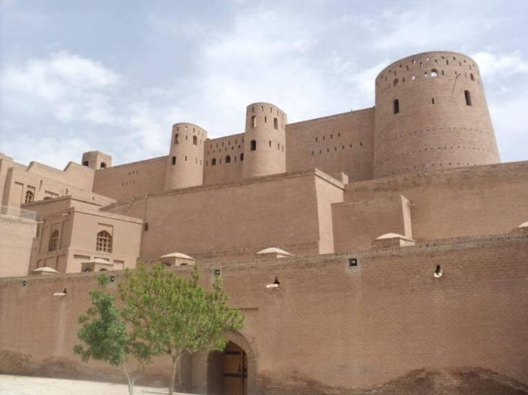 Herat Citadel -by Wikipedia.org