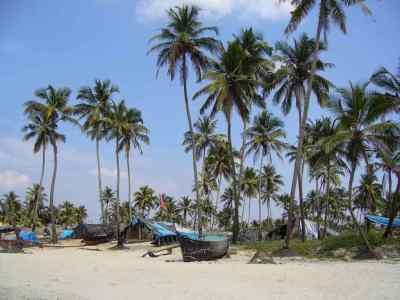 South Goa (Colva Beach) - Tanya Dedyukhina/Wikimedia.org