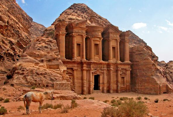 Petra Monastery -by Dennis Jarvis/Flickr.com