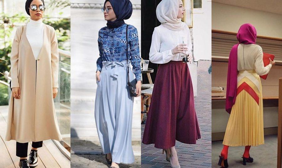 تنسيق الالوان في الملابس للمحجبات تناسق الالوان في ملابس