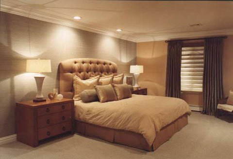 غرف نوم باللون البني غرفة نوم بني اغراء قلوب