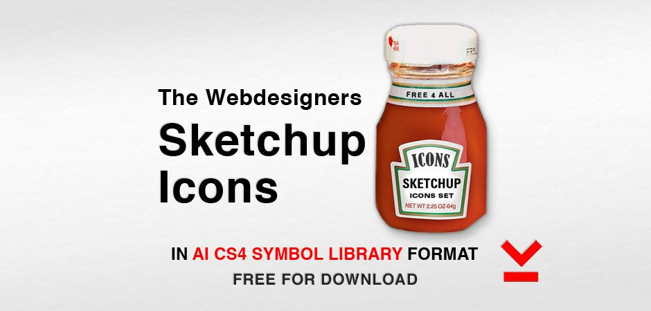Webdesigners Sketchup Icons
