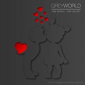 Плакат Grey World