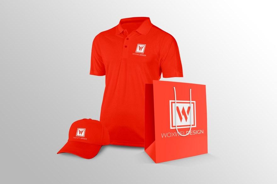 Логотип Woxwel Design - одежда