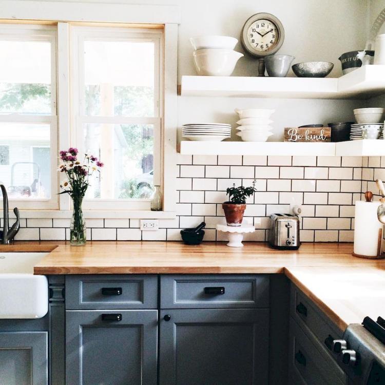 65 fancy farmhouse kitchen backsplash