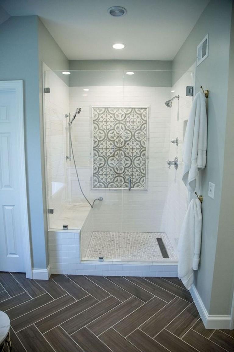 78 luxury farmhouse tile shower ideas