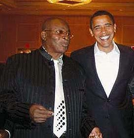 Mighty Sparrow and Barack Obama
