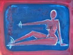 Donne IV- oil on canvas 25 cm x 34 cm