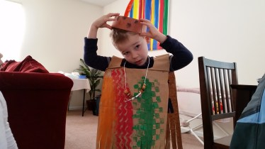 indian costume from school