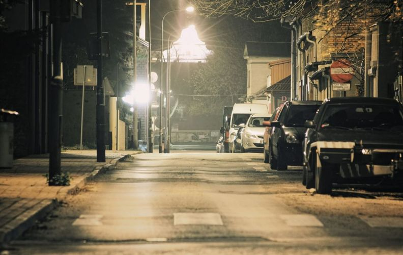 Are streetlights watching you? Image Credit: jwvein / pixabay
