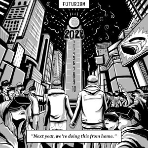 VR New Year Comic