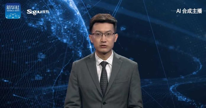 China unveiled the first male AI reporter of the world named as Qiu Hao in 2017. It was launched by the news team Xinhua.