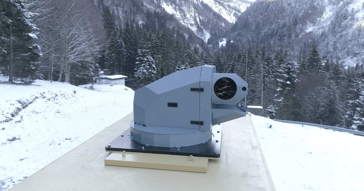 European Military Contractor Tests New Laser Weapon