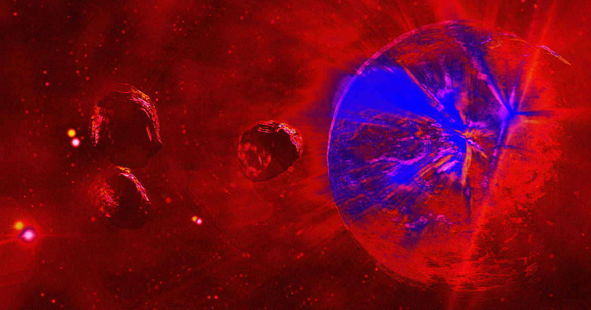 A tabloid called Express publishes at least one article about killer asteroids almost every single day. Futurism investigates!