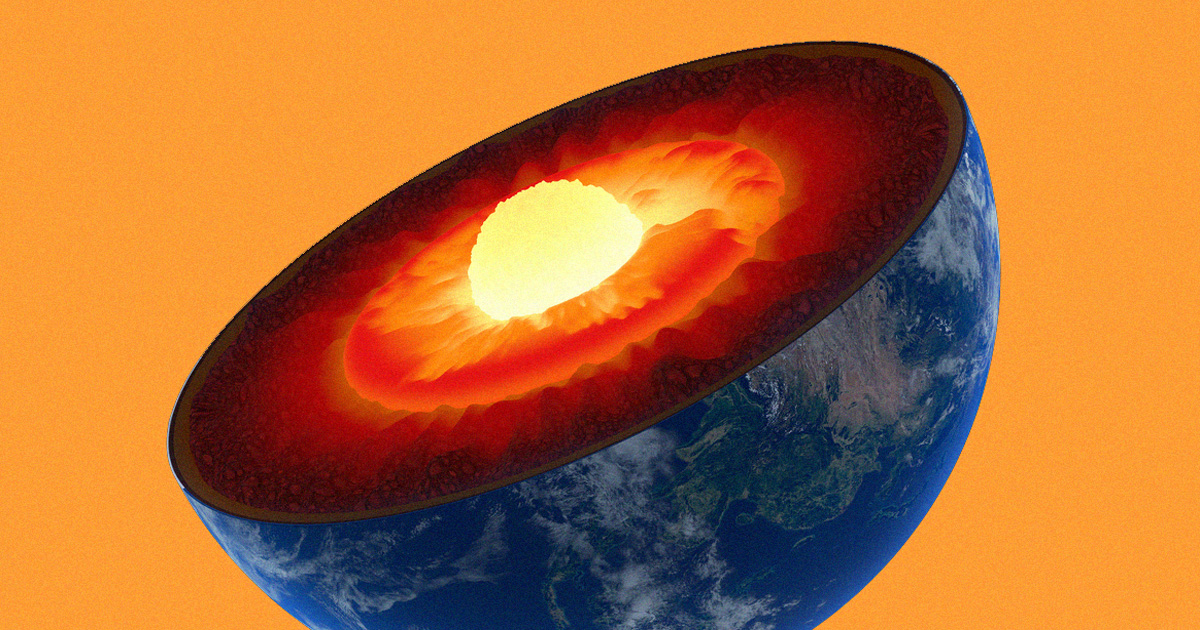 Something is hiding in the center of the Earth's core