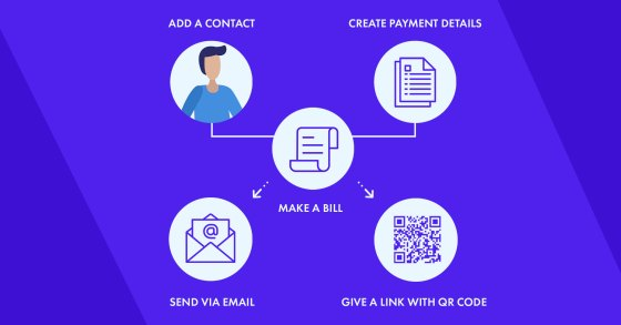 how instant emal bills work on crypto payments