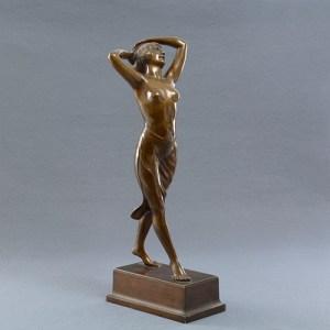 Sculpture bronze H. Müller