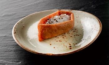 Inari tofu nigiri