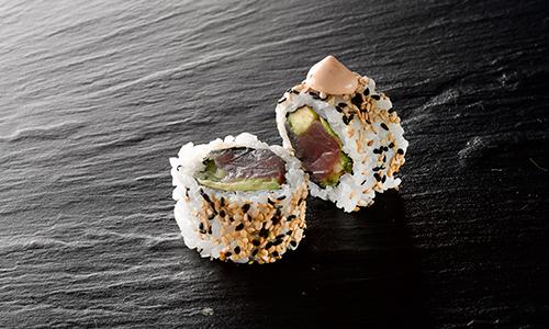 Spicy tun uramaki