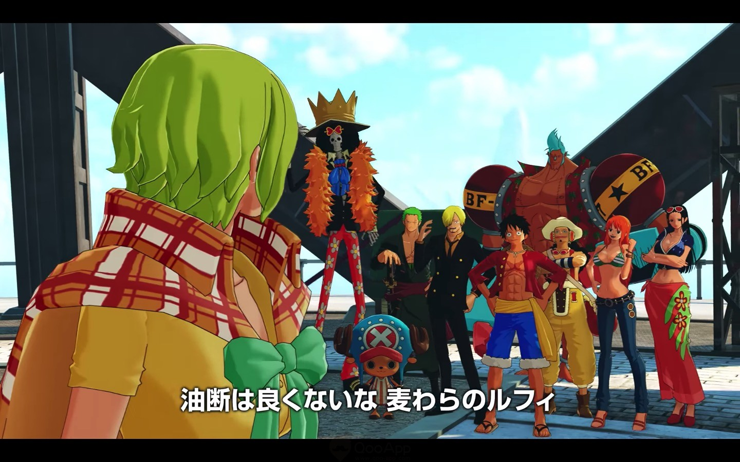 The New PV Shares More Of Games Story Specifically Focusing On Jeanne Young Leader Anti Navy Group Together With Straw Hats