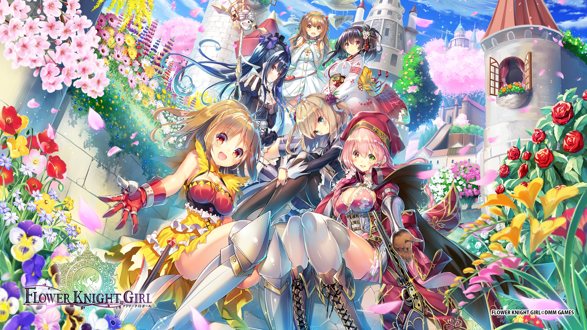 Flower knight rpg is a command rpg featuring 400 female characters who are personified flowers called flower knight the battle runs on auto