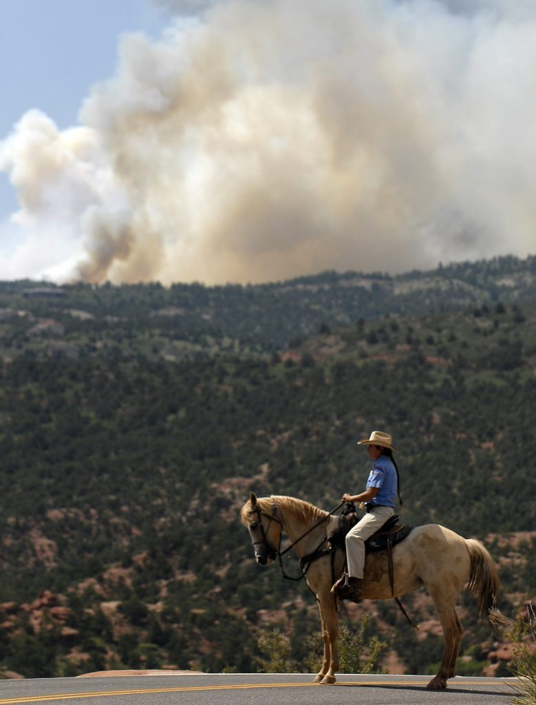 Image from Waldo Canyon Fire