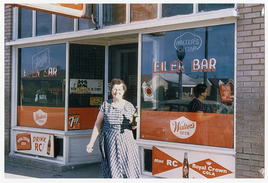 "Josephine ""Pepa"" Glavich, original owner of Eiler's Place, came to the U.S. from Slovenia around 1909 as a teenager.  This photo was taken sometime in the 1950s-60s."