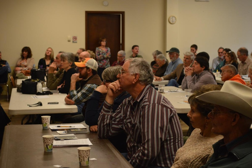 Members of the public gather at a Colorado Basin Roundtable Meeting in 2014.