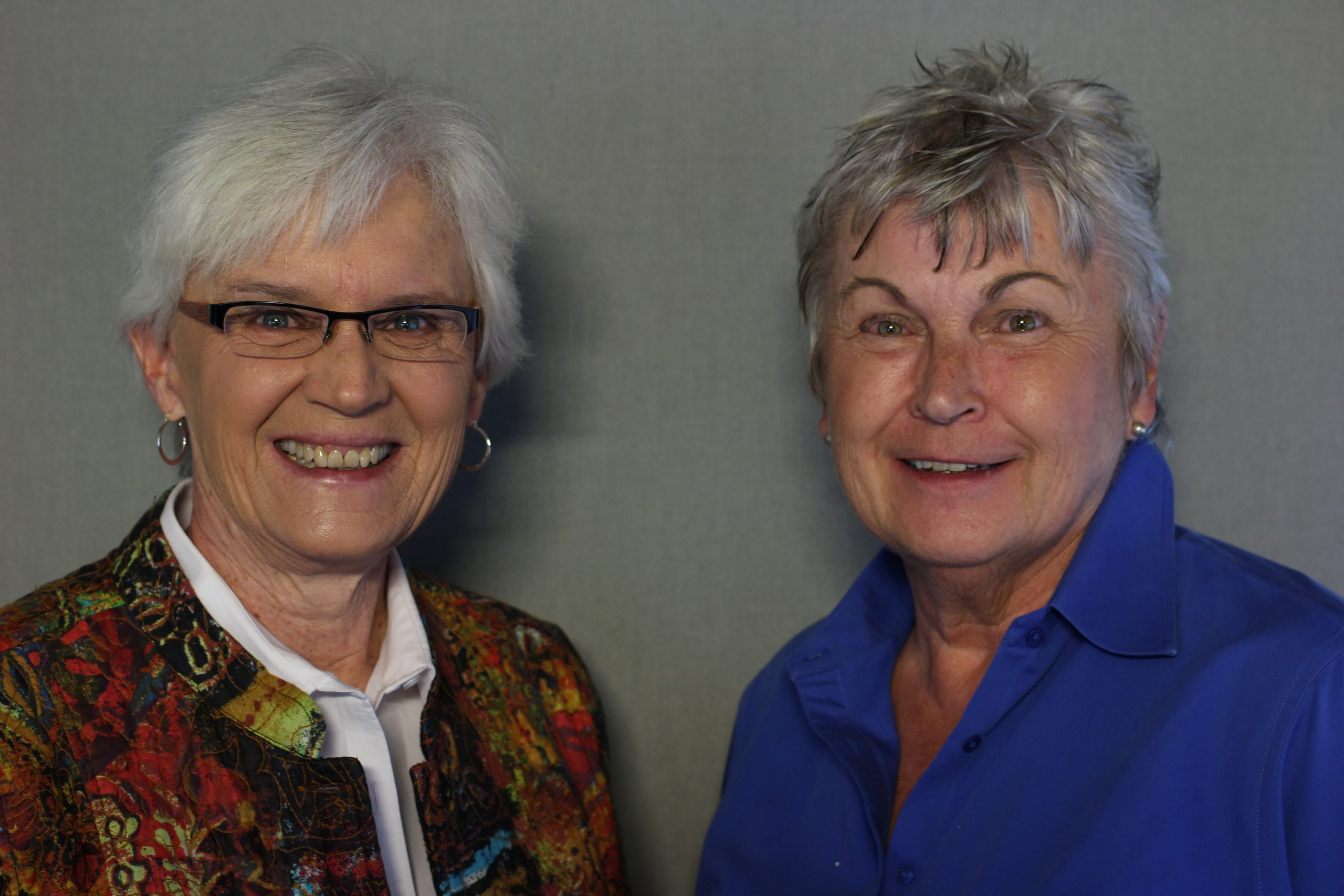 Jan Martin and Mary Lou Makepeace