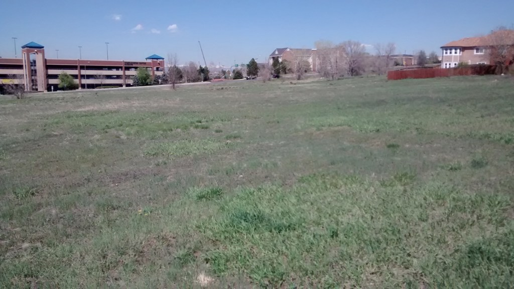 This almost 9-acre parcel of land just off Highway 36 just north of Denver will be home to 65 single family detached houses. This is one of the last undeveloped parcels of land in city limits, and unlike older developments, it will have a lot less lawn.