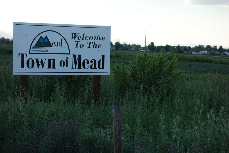 Kent Peppler remembers Mead in his youth as a sleepy town of 200-300, now the population is over 3500.