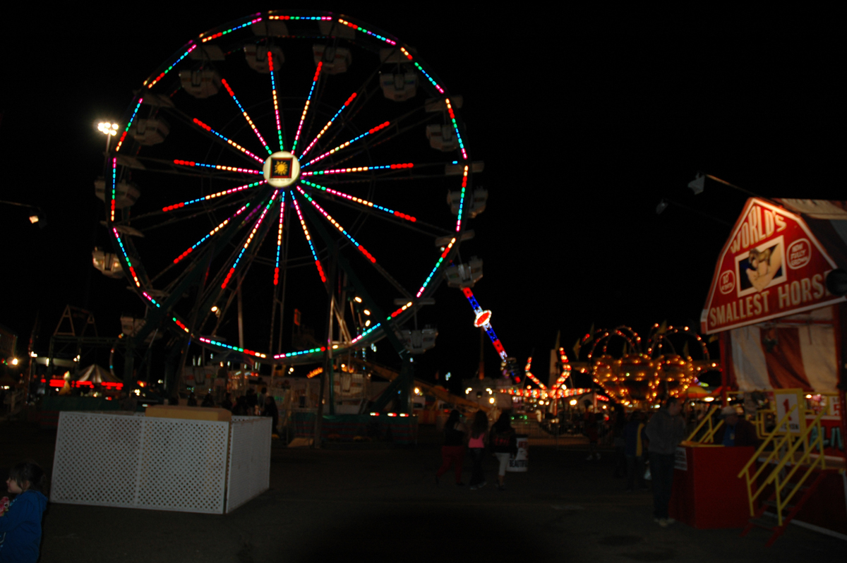 Carnival rides are part of the attraction each year at the Colorado State Fair in Pueblo.