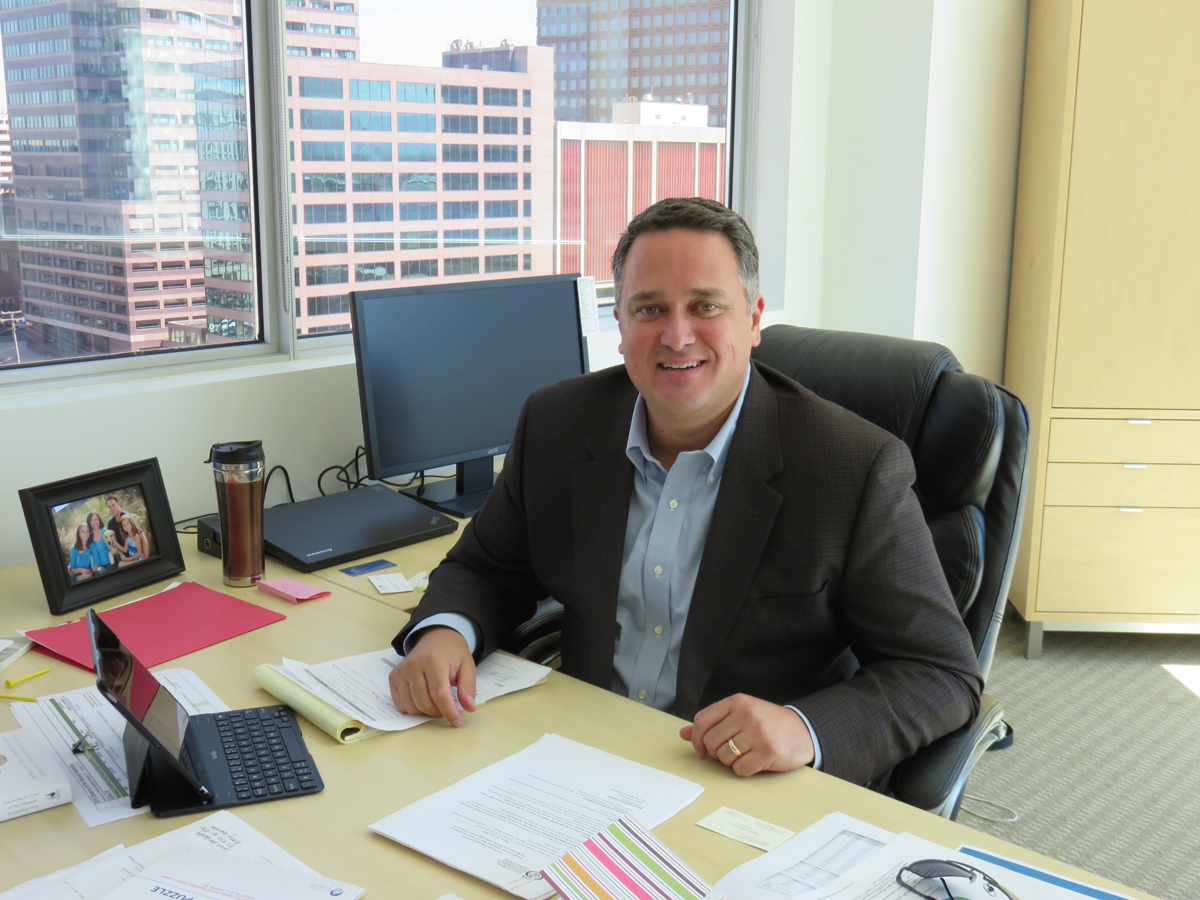 Dan Haley is the new head of the Colorado Oil & Gas Association, or COGA