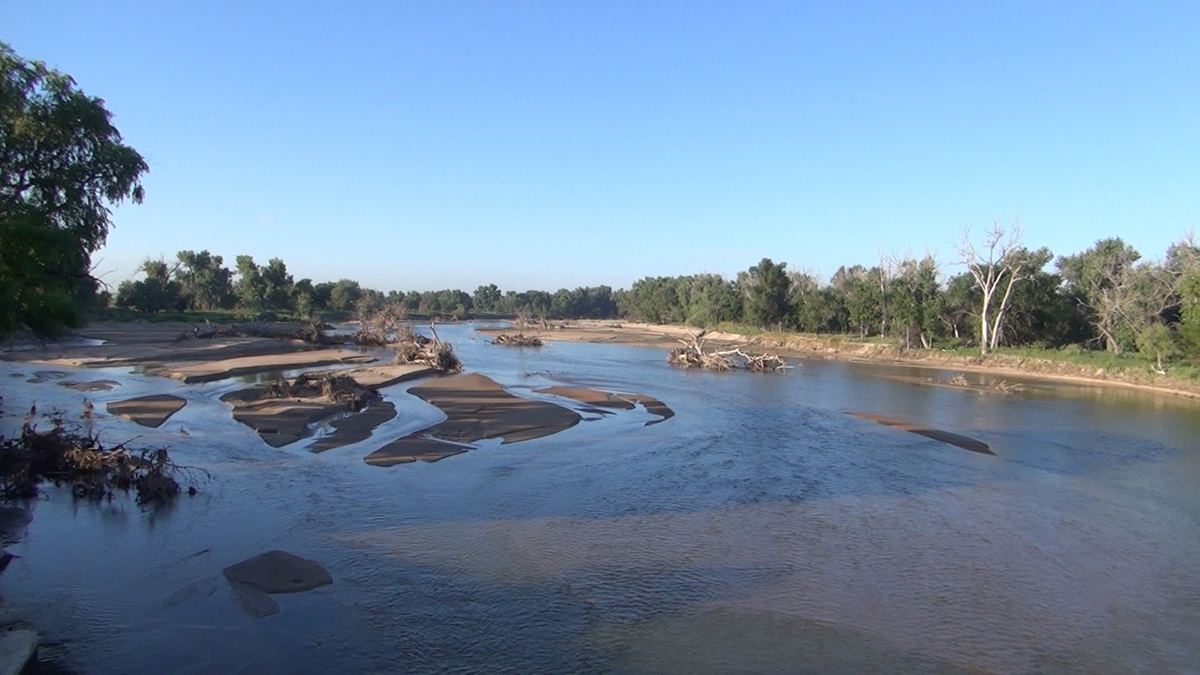 The South Platte River near Sterling