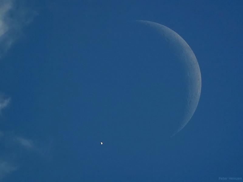 Venus eclipsed