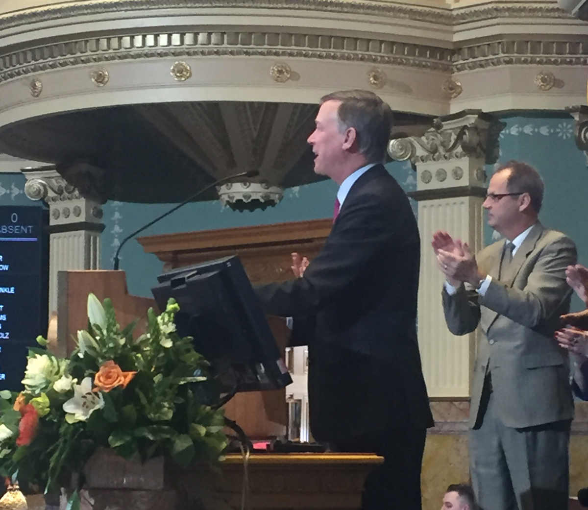 Colo. Governor John Hickenlooper delivers his 6th State of the State address