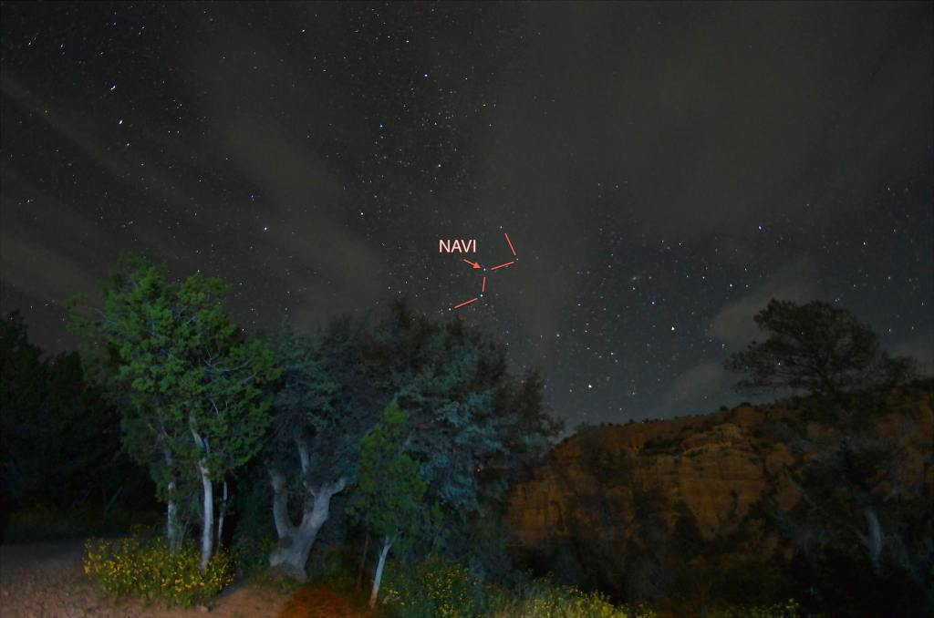 Cassiopeia in the grand scheme of things.