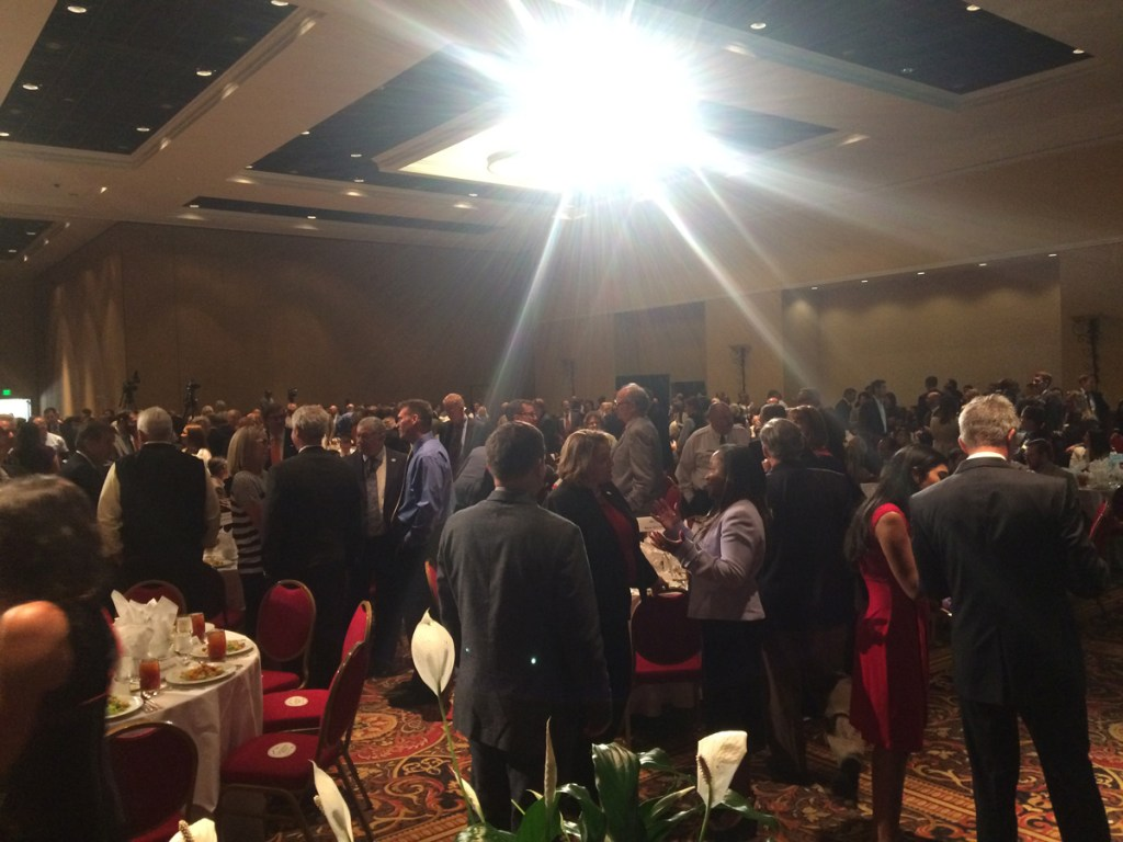 It was a full house at the Broadmoor as Colorado Springs Mayor John Suthers delivered the annual 'State of the City' address