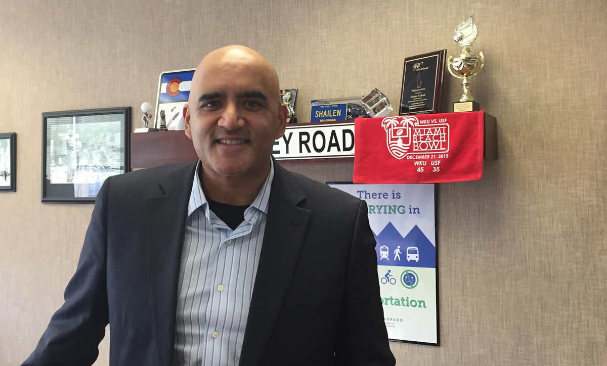 Shailen Bhatt heads the Colorado Department of Transportation